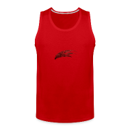 Tank Tops ~ Men's Premium Tank Top ~ Mcsportzhawk Hawk Hooded Sweatshirt