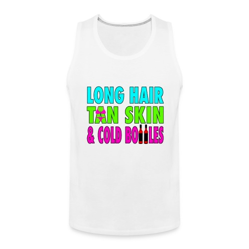 Long Hair Girls Tank - Men's Premium Tank