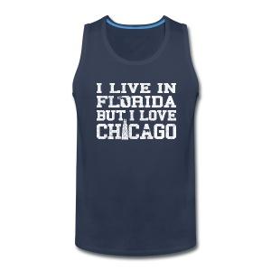 Live Florida Love Chicago - Men's Premium Tank