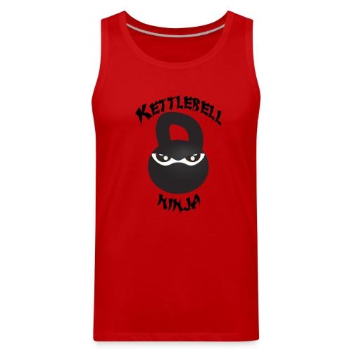 Men's Tank Top - Kettlebell Ninja - Men's Premium Tank