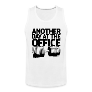 Another day at the office | Mens tank - Men's Premium Tank