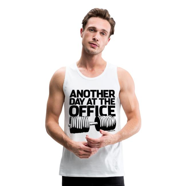 Another day at the office | Mens tank