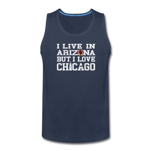 Live Arizona Love Chicago - Men's Premium Tank