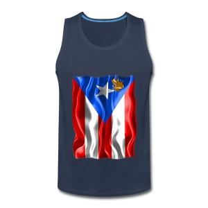 A Little Piece of Puerto Rico (men's tank) - Men's Premium Tank