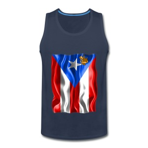 A Little Piece of Puerto Rico (men's tank) - Men's Premium Tank