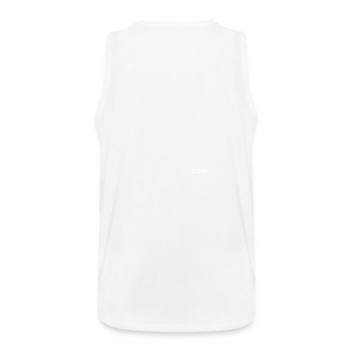 Dark Avenger INC - Men's Muscle Shirt - White - Men's Premium Tank