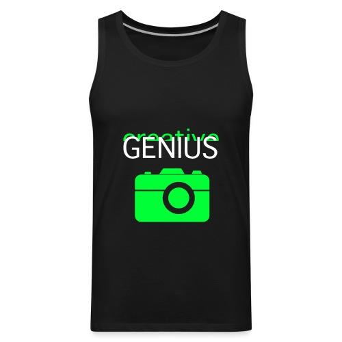 Creative Genius Tank + Camera - Men's Premium Tank