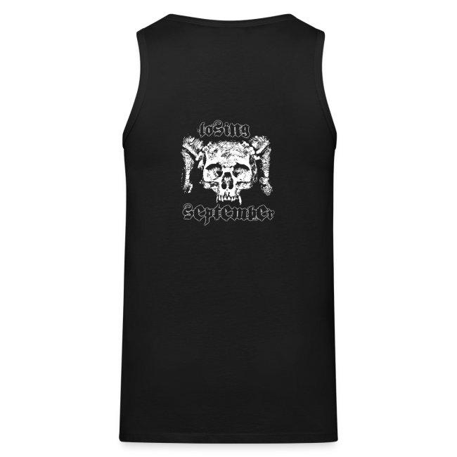 Men's Tanktop - w/ Skull on back