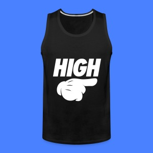 High Pointing Right Tank Tops - Men's Premium Tank