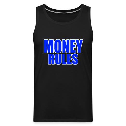 Money Rules Men's Tank - Men's Premium Tank