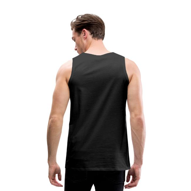 I flexed and the sleeves fell off | Mens tank