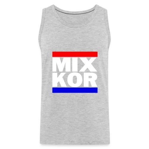 MIX KOR Mens Tank - Heather Grey - Men's Premium Tank