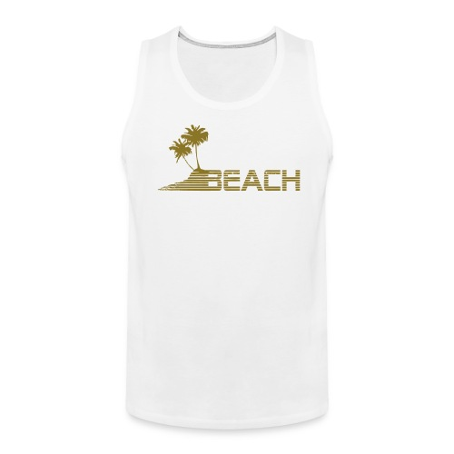 Beach tank top - Men's Premium Tank
