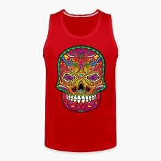 All Saints' Day - Day of the dead - Sugar skull Tank Tops