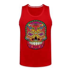 All Saints' Day - Day of the dead - Sugar skull Tank Tops - Men's Premium Tank