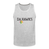 Sportswear ~ Men's Premium Tank ~ Da Hawks