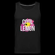 Sportswear ~ Men's Premium Tank ~ Cool Lemon Tank Top by Akira Arruda