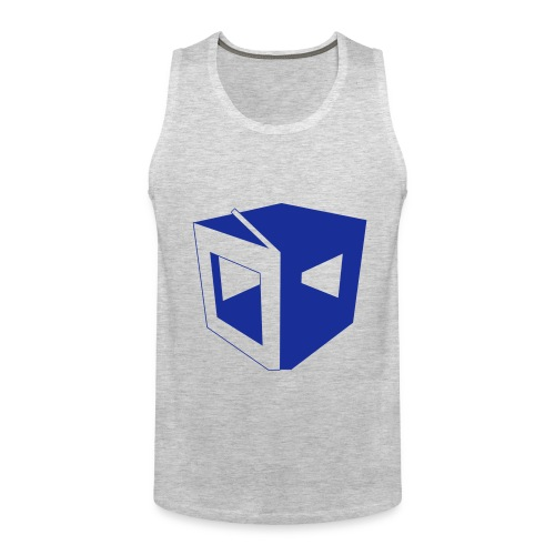 1Block logo tank - Men's Premium Tank