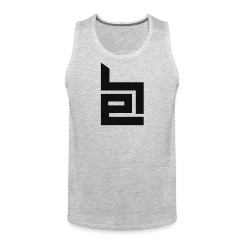 Black Logo Tank Top - Men's Premium Tank