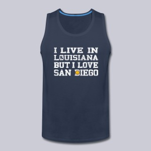 Live Louisiana Love San Diego - Men's Premium Tank