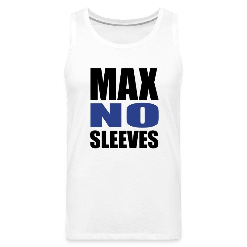 Men's Premium Tank - youtube,no sleeves,merchandise,maxnosleeves,max no sleeves merchandise,max
