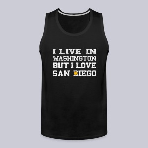 Live Washington Love San DIego - Men's Premium Tank