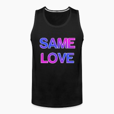 Same Love LGBT Design Tank Tops