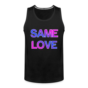 Same Love Marriage Equality Tank Top - Men's Premium Tank
