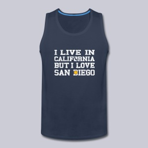 Live California Love San Diego - Men's Premium Tank