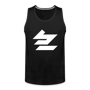 BE Tank - White logo - Men's Premium Tank