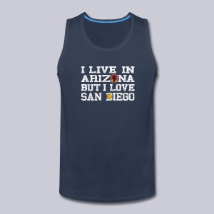Live Arizona Love San Diego - Men's Premium Tank