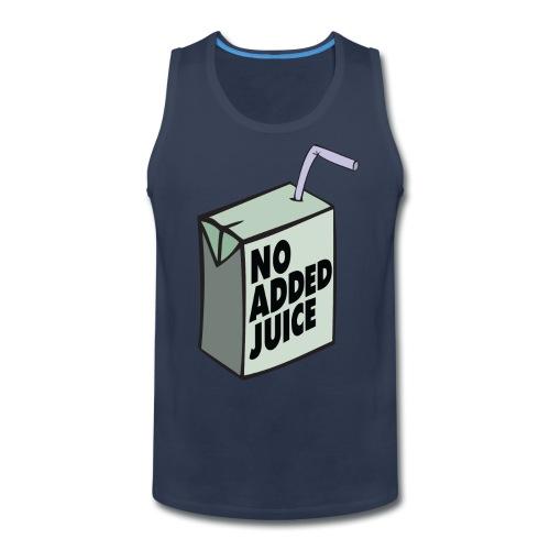 No Added Juice (Green Design) - Tank Top - Men's Premium Tank