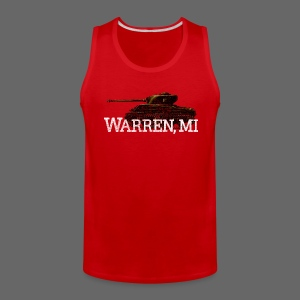 Warren, Michigan - Men's Premium Tank