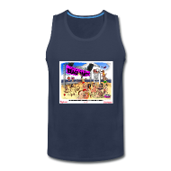 Sportswear ~ Men's Premium Tank ~ Miss Lola's Beach Party 2013!!  Men's Tank
