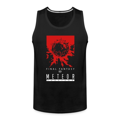FFXIV:ARR Meteor Survivor Men's Tank Top - Men's Premium Tank
