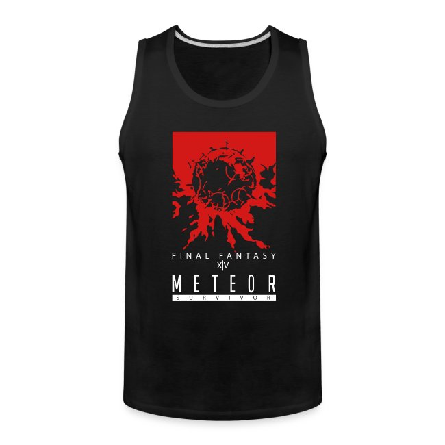 FFXIV:ARR Meteor Survivor Men's Tank Top