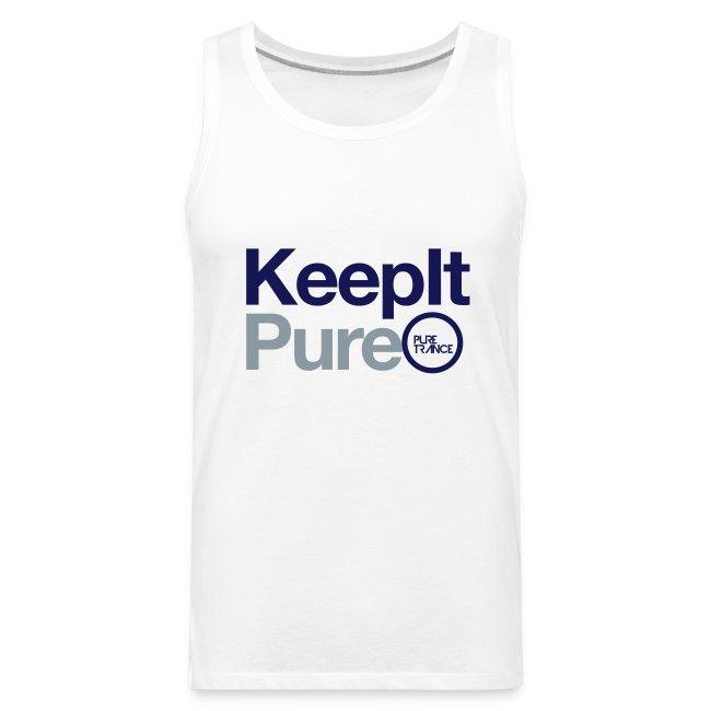 Keep It Pure (Silver Metallic / Navy Blue) [Male]
