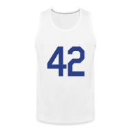 Sportswear ~ Men's Premium Tank ~ Jackie Robinson 42 Tanktop