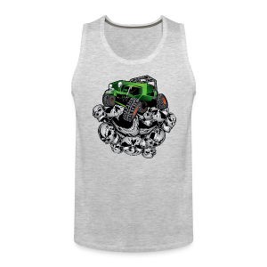 The Green Grim Jeeper - Men's Premium Tank