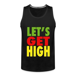 Let's Get High Tanktop - Men's Premium Tank