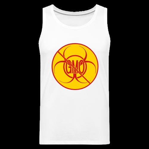 No GMO Tank Tops NO GMO Bio-hazard Muscle Shirts - Men's Premium Tank