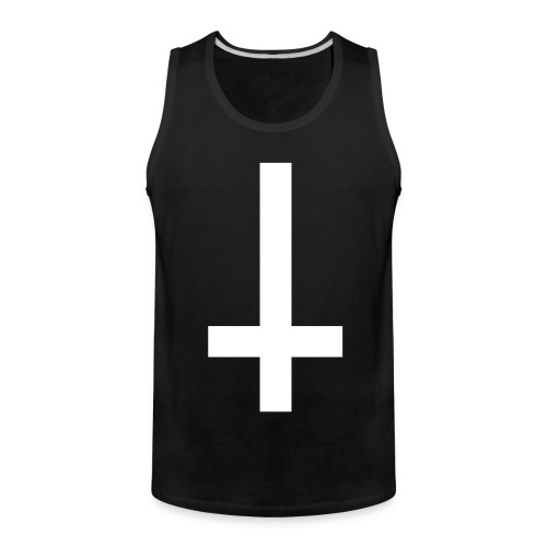 Upside Down Cross Tank - Men's Premium Tank