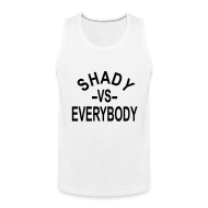 Sportswear ~ Men's Premium Tank ~ shady -vs- everybody tank top