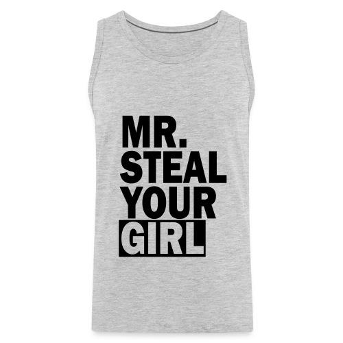 mr. steal your girl tank top - Men's Premium Tank