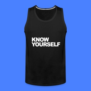 Know Yourself Tank Tops - Men's Premium Tank