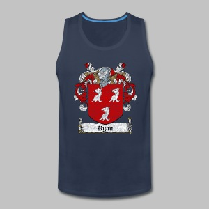 Ryan Family Crest - Men's Premium Tank