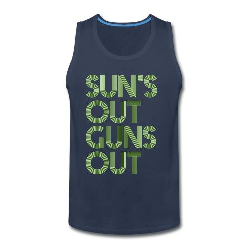 Sun's Out Guns Out Tank - Men's Premium Tank