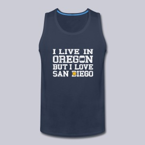 Live Oregon Love San Diego - Men's Premium Tank