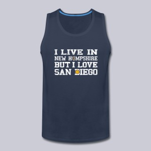 Live New Hampshire Love San Diego - Men's Premium Tank