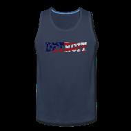 Tank Tops ~ Men's Premium Tank Top ~ A Detroit Flag